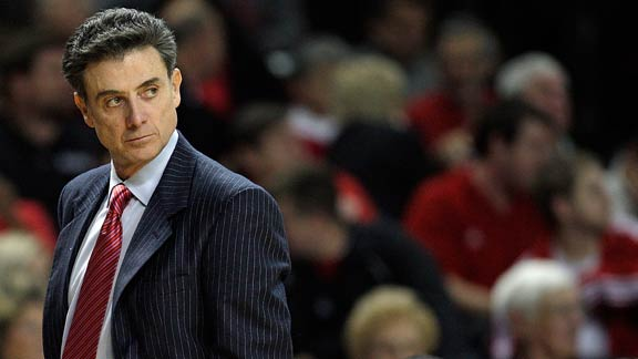 RICK PITINO OUT AT LOUISVILLE