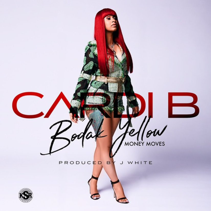 CARDI B & BODAK YELLOW HITS NUMBER 1 ON BILLBOARD CHARTS!