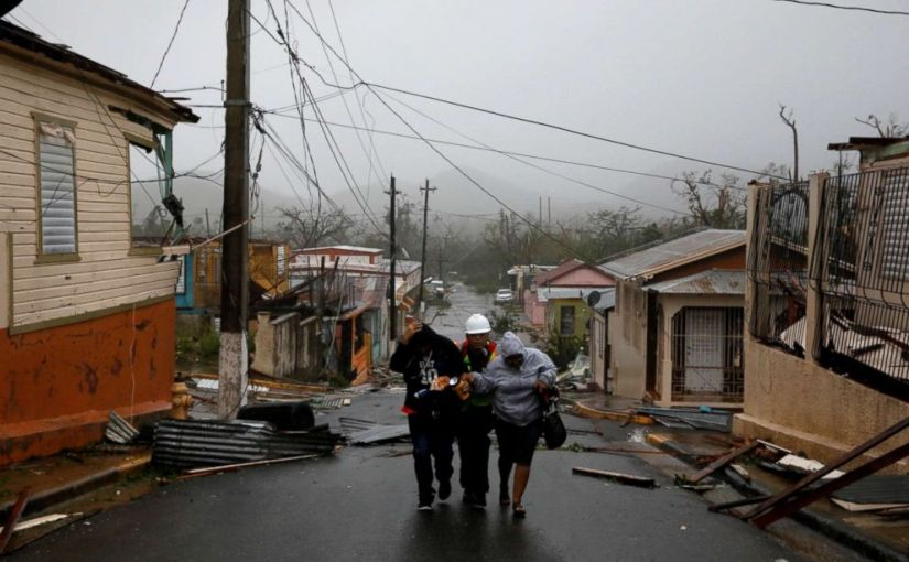 PUERTO RICO COULD BE WITHOUT POWER FOR UP TO SIX MONTHS