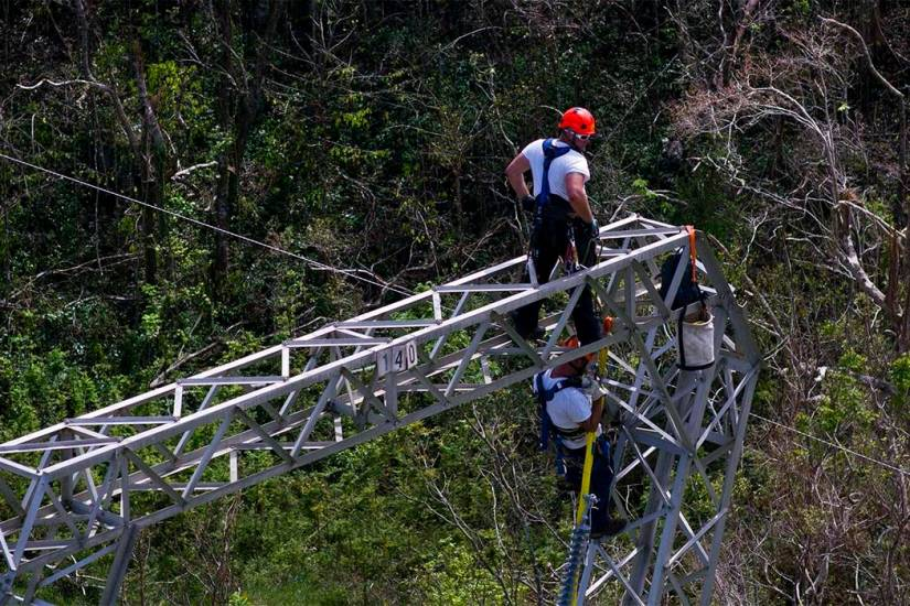 PUERTO RICO CANCELS $300 MILLION CONTRACT WITH WHITEFISH ENERGY COMPANY