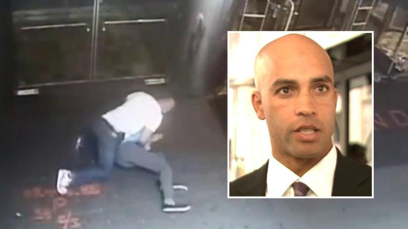 JAMES BLAKE BEING SUED BY COP WHO WRONGFULLY TACKLED AND ACCOSTED HIM