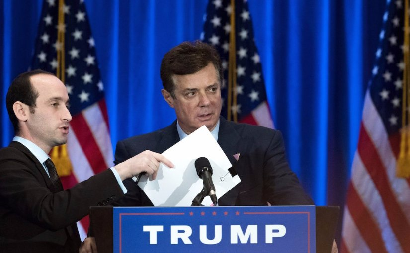 PAUL MANAFORT & RICK GATES HIT WITH 12 CHARGES, INCLUDING CONSPIRING AGAINST THE UNITED STATES