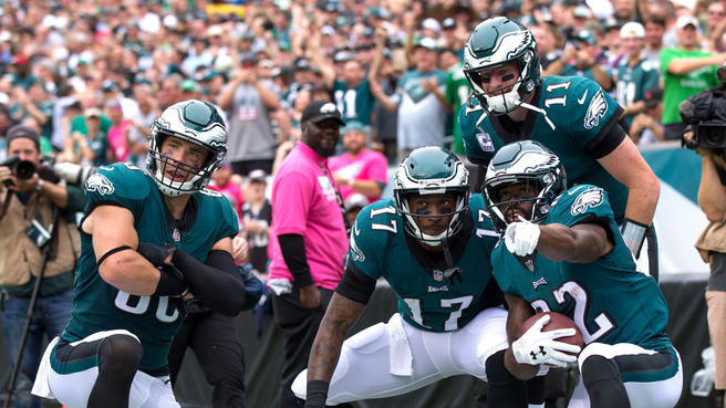 EAGLES STOMP A MUDHOLE IN ARIZONA'S A**. ARE THE BIRDS THE TEAM TO BEAT IN THE NFC EAST NOW?