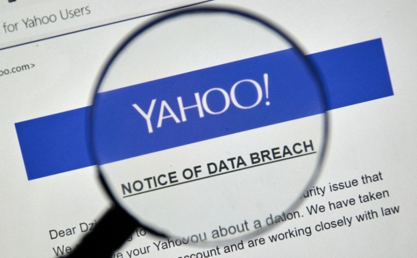 YAHOO SAYS 3 BILLION OF THE SITE'S ACCOUNTS WERE AFFECTED BY 2013HACK