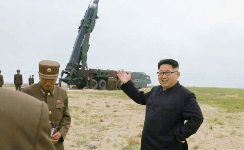 NORTH KOREA LAUNCHES ANOTHERMISSILE