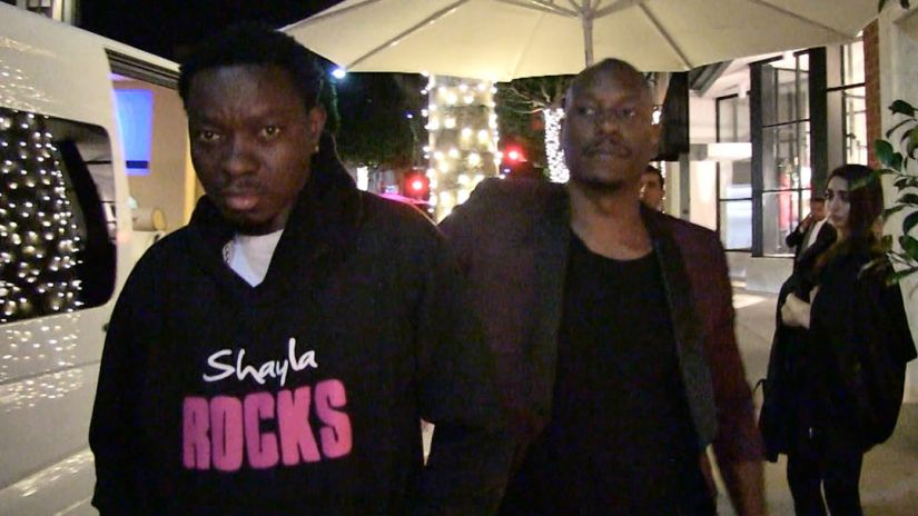 "IS TYRESE REALLY HOLDING MICHAEL BLACKSON HOSTAGE? IF SO, ""WHAT DOES HE WANT FROM HIM?"" (VIDEO)"
