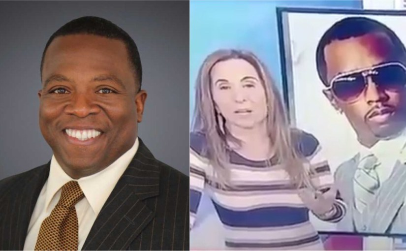 NEWS REPORTERS LAUGHS AT DIDDY'S OFFER TO BUY THE PANTHERS
