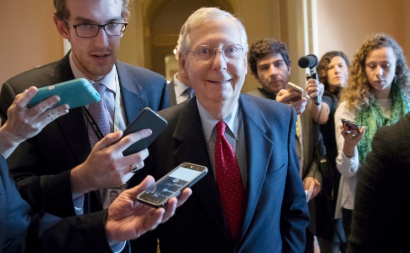 THIEVES IN THE NIGHT: SENATE REPUBLICANS PASS TAX BILL AT2A.M.