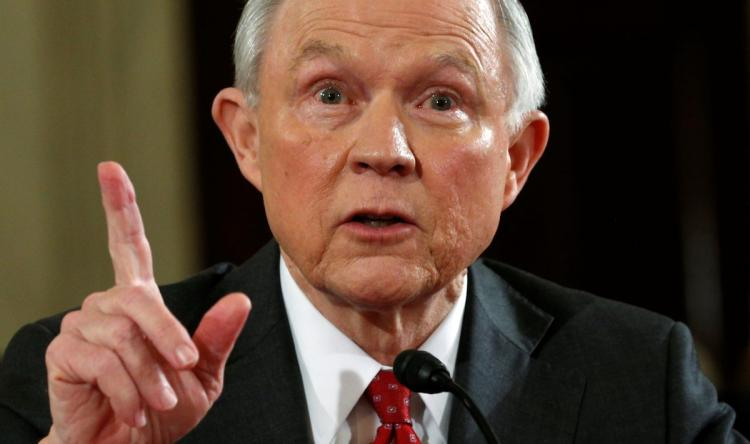 SESSIONS LED JUSTICE DEPARTMENT RESCINDS OBAMA ERA MARIJUANA LAWS
