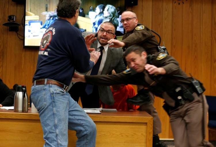 FATHER OF THREE OF LARRY NASSAR'S VICTIMS GOES AFTER HIM IN COURT(VIDEO)
