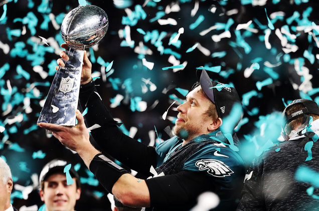 DO YOU BELIEVE??? PHILADELPHIA EAGLES ARE SUPER BOWL CHAMPIONS!!!