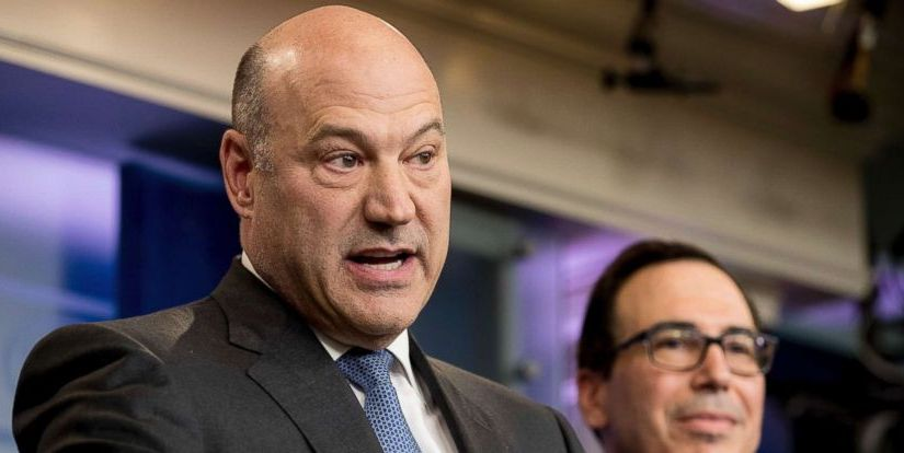 TRUMP ECONOMIC ADVISER GARY COHN CALLS IT QUITS