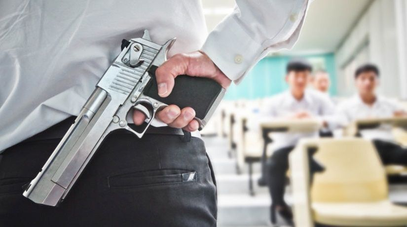 TEACHERS ACCIDENTALLY FIRES A GUN AND INJURES STUDENT DURING SAFETY LESSON