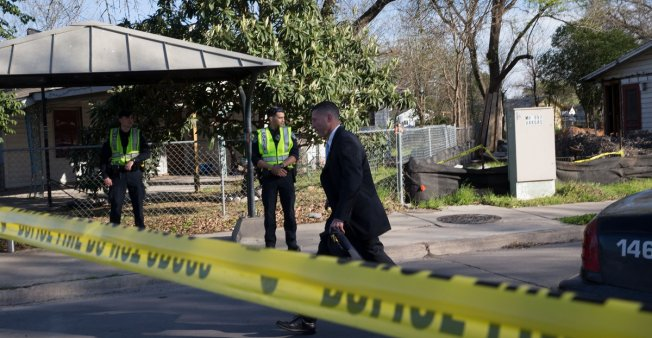 PACKAGE BOMBS IN TEXAS MAY BE RACIALLYCHARGED