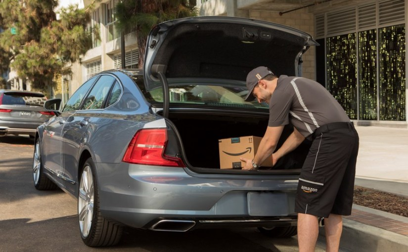 """AMAZON TO ROLL OUT """"DELIVERY TO YOUR CAR"""" SERVICE IN MULTIPLECITIES"""