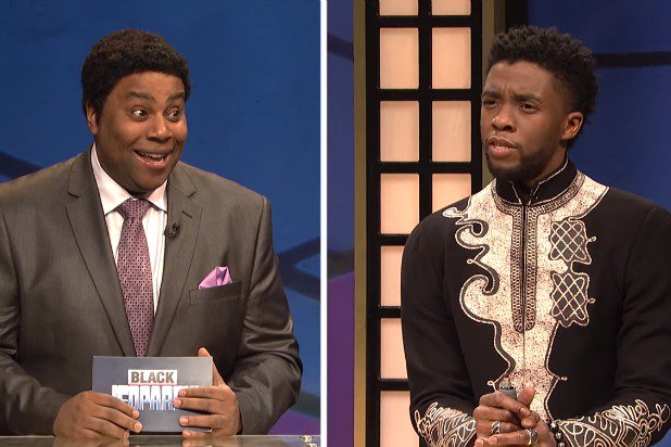 BLACK JEOPARDY WITH T'CHALLA (VIDEO)
