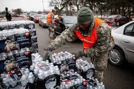 MICHIGAN WILL NO LONGER PROVIDE FREE BOTTLED WATER TO FLINTRESIDENTS