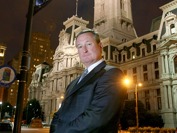 PHILLY MAYOR JIM KENNEY VISITS MEEK MILL IN PRISON. SUPPORTS #FREEMEEKMILL MOVEMENT