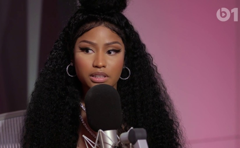 NICKI'S MINAJ EXPLAINS RECENT RUMORS OF BEEF WITH CARDI B IN INTERVIEW WITH ZANE LOWE(VIDEO)