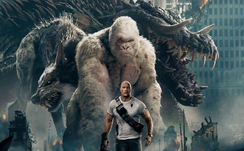 "CHECK OUT THE TRAILER FOR ""RAMPAGE"" (VIDEO)"