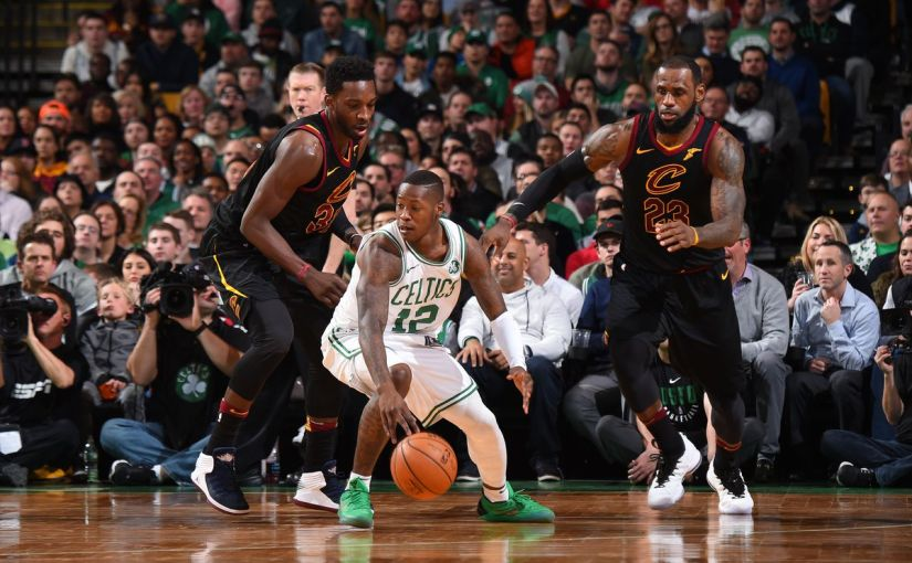 CELTICS FINISH 76ERS OFF IN FIVE GAMES. MOVE ON TO EASTERN CONFERENCE FINALS TO FACE LEBRON JAMES AND THE CAVS