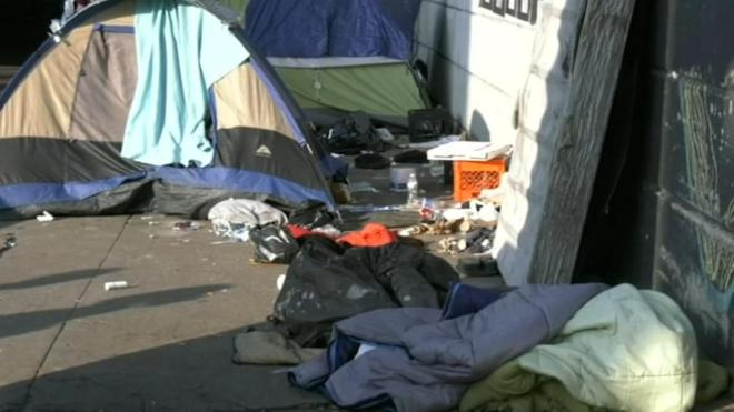 homeless encampments