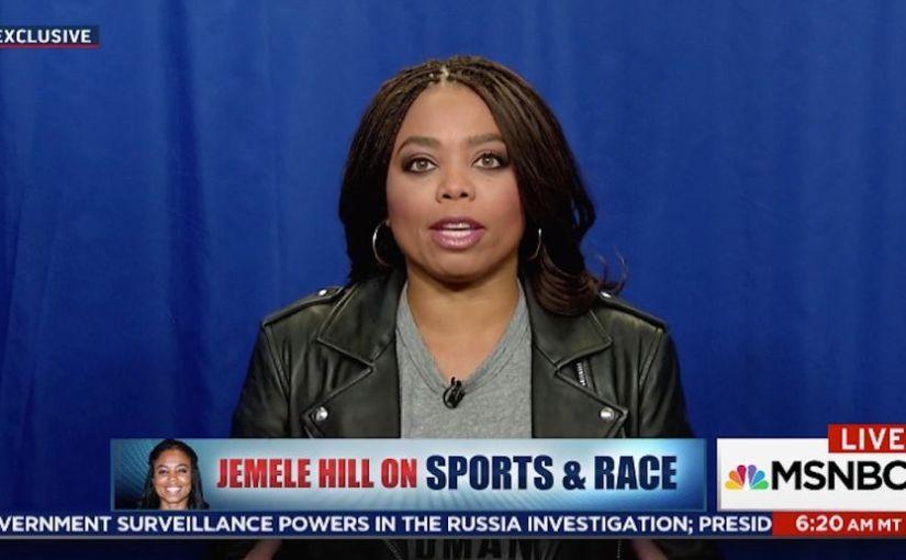 ESPN'S JEMELE HILL NAMED NABJ JOURNALIST OF THEYEAR