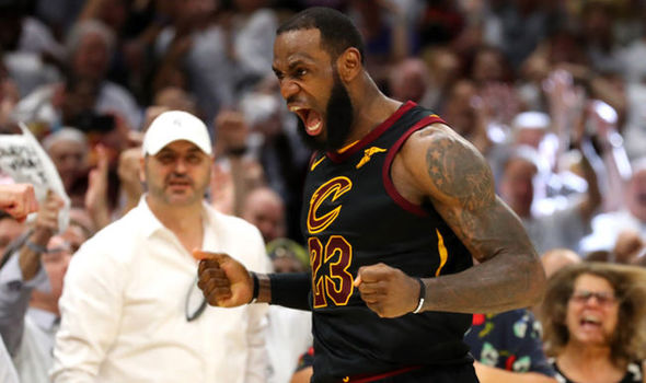 "THEY'RE NOT LICKED YET! LEBRON AND CAVS PULL OFF GAME-6 ""W"" TO FORCE A GAME-7 IN BOSTON (VIDEO)"