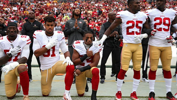 WHAT FREEDOM OF SPEECH? NFL APPROVES NATIONAL ANTHEM POLICY