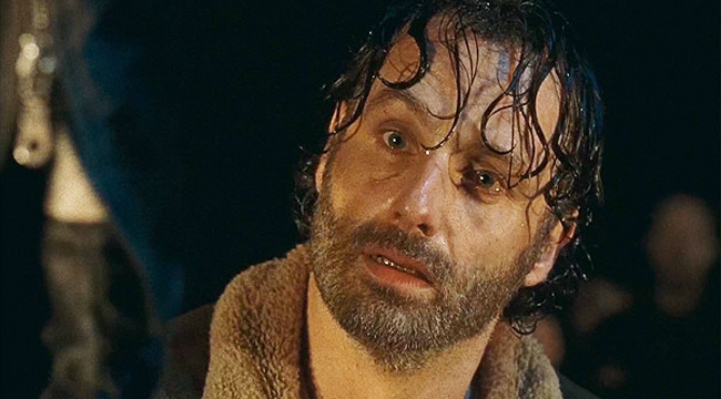 "RICK GRIMES LEAVING ""THE WALKING DEAD?"""