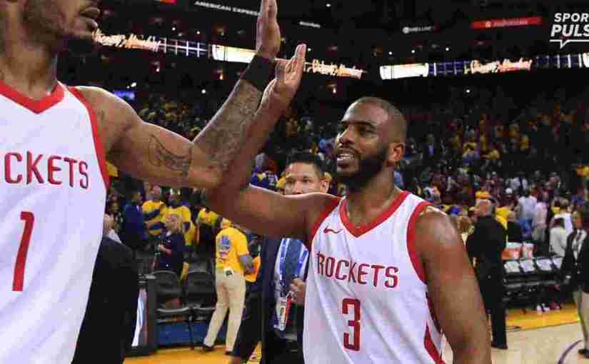 ROCKETS PULL OFF STUNNING UPSET IN GOLDEN STATE'S HOUSE. SEND SERIES BACK TO HOUSTON TIED UP AT 2 GAMES APIECE (VIDEO)