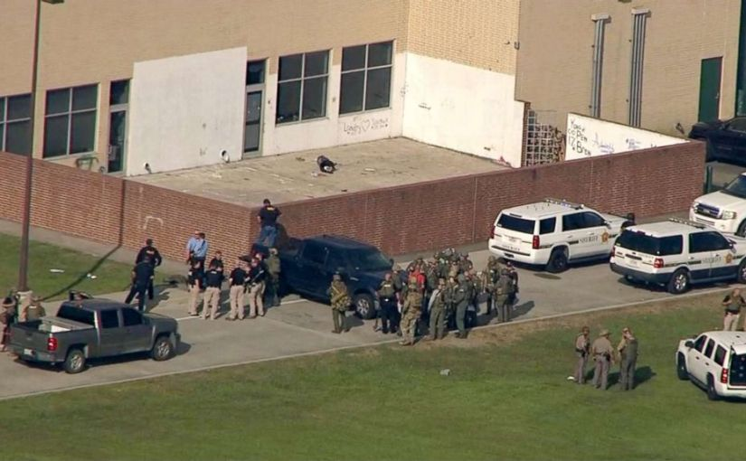 SUSPECT IN SANTA FE SCHOOL SHOOTING THAT KILLED AT LEAST 9 IDENTIFIED AS 17-YEAR OLD DIMITRIOUS PAGOURTZIS
