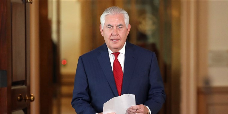 DID FORMER SECRETARY OF STATE REX TILLERSON JUST TAKE A FEW SHOTS AT HIS FORMER BOSS DURING VMI SPEECH?(VIDEO)