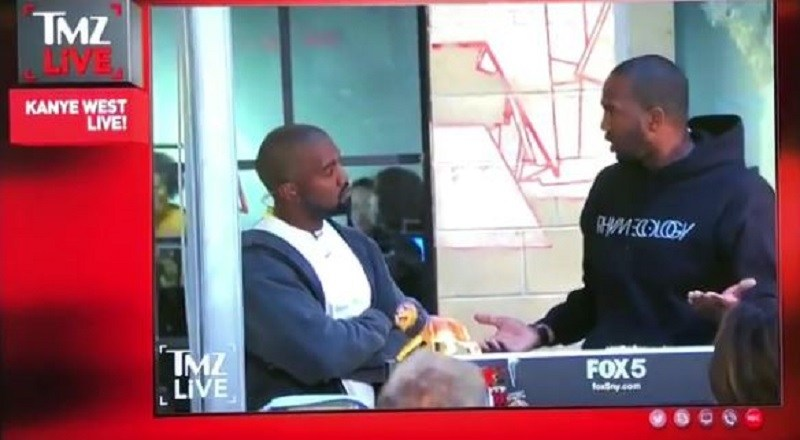 "WATCH TMZ'S VAN LATHAN SET KANYE WEST STRAIGHT AFTER KANYE MAKES MULTIPLE WEIRD CLAIMS INCLUDING THAT ""SLAVERY WAS A CHOICE"" (VIDEO)"