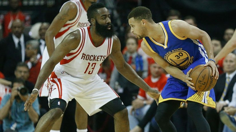 ROCKETS AND WARRIORS BOTH TAKE CARE OF BUSINESS IN SEMI-FINALS. SET TO FACE-OFF IN WESTERN CONFERENCE FINALS