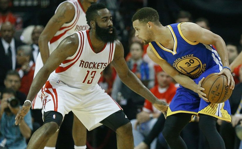 ROCKETS AND WARRIORS BOTH TAKE CARE OF BUSINESS IN SEMI-FINALS. SET TO FACE-OFF IN WESTERN CONFERENCEFINALS
