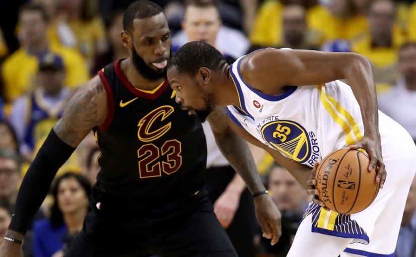 51 POINTS FROM LEBRON NOT ENOUGH AS WARRIORS TAKE GAME-1 OF NBA FINALS 124-114 IN OT(VIDEO)