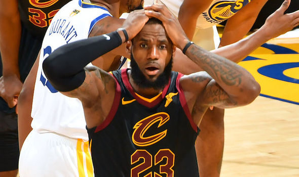ARE THEY DONE? CAVS LOOK OUTCLASSED IN 103-122 GAME-2 FINALS LOSS TOWARRIORS