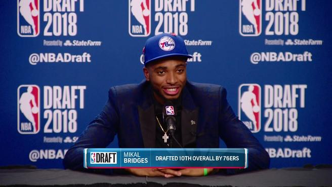 DRAFT NIGHT DREAM COMES TRUE FOR HOMETOWN KID….FOR ABOUT 30MINUTES