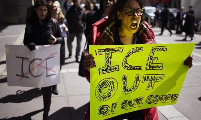 PROTEST OF ICE IN PHILLY HITS FOURTH STRAIGHTDAY