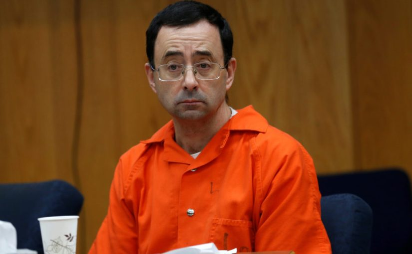 CONVICTED RAPIST LARRY NASSAR ASSAULTED IN PRISON