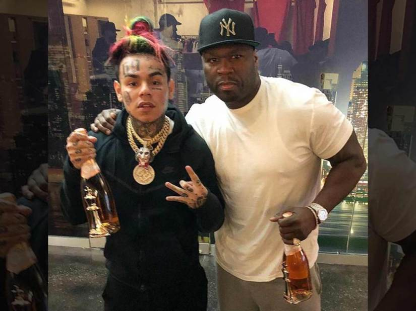 SHOTS RING OUT ON SET OF 50 CENT & TEKASHI69 MUSIC VIDEOFILMING