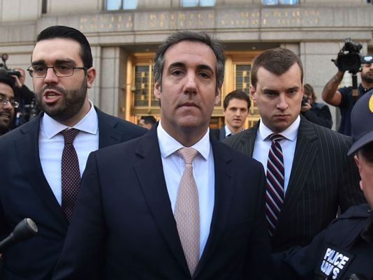 FORMER TRUMP ATTORNEY MICHAEL COHEN REPORTEDLY IN TALKS TO GRAB A PLEA DEAL WITH THE FEDS