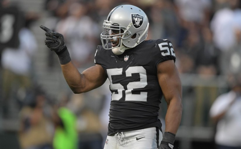 OAKLAND RAIDERS REPORTEDLY TRADING PASS RUSHER KHALIL MACK TO BEARS