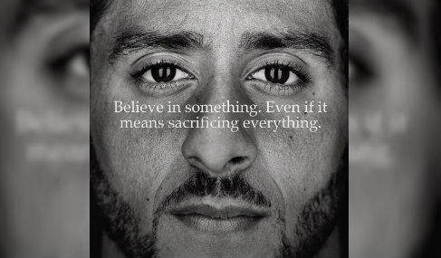 "NIKE ANNOUNCES NEW ""JUST DO IT"" AD FEATURING COLIN KAEPERNICK. TRUMP FANATICS REACT BY BURNING THEIR OWN NIKE GEAR"