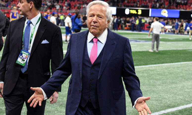 ROBERT KRAFT TURNS DOWN PLEA DEAL ON SOLICITATION CHARGES