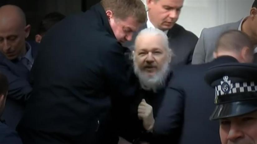 JULIAN ASSANGE CHARGED WITH CONSPIRACY TO HACK A GOVERNMENT COMPUTER IN THEU.S.