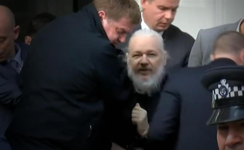 JULIAN ASSANGE CHARGED WITH CONSPIRACY TO HACK A GOVERNMENT COMPUTER IN THE U.S.