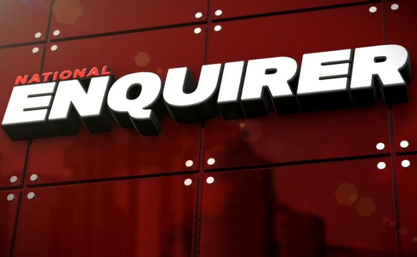 NATIONAL ENQUIRER SOLD FOR $100 MILLION