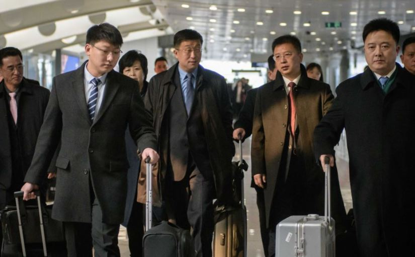 NORTH KOREA ALLEGEDLY EXECUTES NEGOTIATING ENVOY OF FIVE AFTER FAILED SUMMIT WITHU.S.